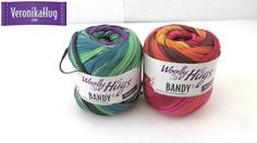 Woolly Hugs - Produktvorstellung - tolles Bändchengarn /  Redaktion Hug ...