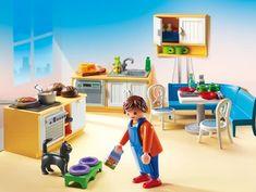 PLAYMOBIL Keuken met zithoek - 5336 voor Playmobil poppenhuis #leukmetkids #samenwerking