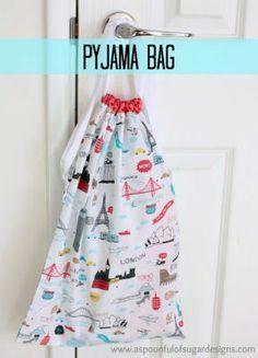 Pyjama Bag Tutorial