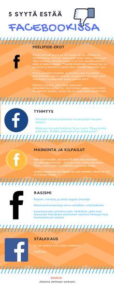 5 syytä, jotka saavat verkostoni painamaan Estä-nappia Facebookissa