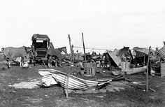 Collapsed Stables and Dwellings resulting from the Braamfontein Explosion of 1896 | Flickr - Photo Sharing!