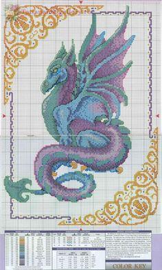Gallery.ru / Фото #1 - Mythical_Dragons - Tatiananik