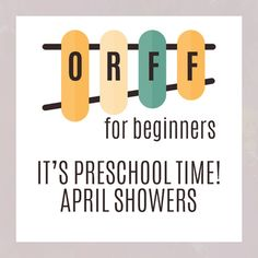 This Preschool APRIL Showers unit teaches instrument exploration.  Students will experience RAIN through singing, playing, moving, and speaking! Students will have fun with the books Its Raining, Its Pouring and many more.  Students will experience unique instruments such as the rainstick and a giant cardboard box with the song Pitter Patter.