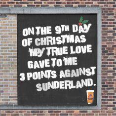 "Read more: https://www.luerzersarchive.com/en/magazine/print-detail/bankss-beer-66601.html Banks's Beer Urban graffiti campaign for Banks's brewery ""sprayed"" onto a disused office block in Wolverhampton, turning it into the UK's biggest advent calendar featuring 25 original artworks. Tags: Big Al's Creative Emporium,Martin Gillan,Richard Pursey,Banks's Beer,Tom Burnay,Stefan Jones"