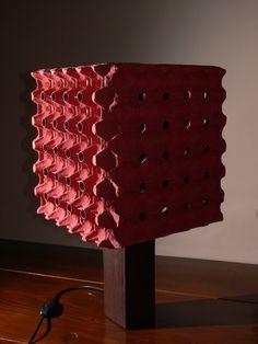 LAMPA [XIX] - ECO BEDSIDE LAMP - UPCYKLING - UPCYCLING