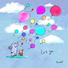 Release old grudges....what happened days, weeks, years ago, burdens of the past. Let go!