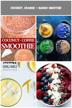 Rich and creamy, this Coconut Coffee Smoothie, full of coconut-chocolate flavor, is a HEALTHY and DELICIOUS way to start your day! FOLLOW Cooktoria for more deliciousness! #smoothie #coffee #coconut #drink #summer #recipeoftheday smoothie diet Coconut Coffee Smoothie