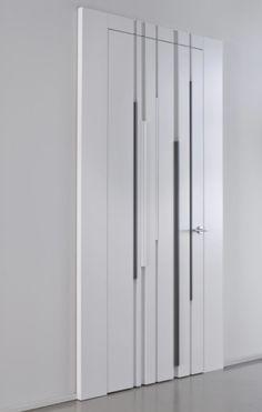 Modern Luxury Bedroom, Luxurious Bedrooms, Wooden Door Design, Wooden Doors, Modern Wall Paneling, Wall Panelling, Hidden Doors In Walls, Unique Furniture, Furniture Design
