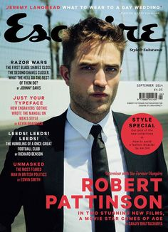 Esquire UK September 2014 Cover