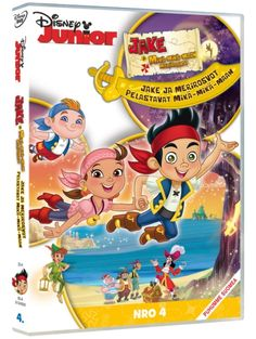 Jake and the Never Land Pirates: Never Land Rescue Sails on to DVD November Guide: Ahoy! Jake and the Never Land Pirates: Never Land Rescue Sails on to DVD November Movies For Sale, New Movies, Disney Movies, Disney Junior, Disney Merchandise, Neverland, Halloween, Landing, Gift Guide