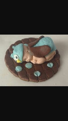Baby owl baby shower for boy