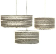 EcoChic pendant lamps.