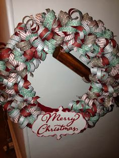 My Paper Ribbon Wreath made with Close To MY Heart Sparkle and Shine Paper Pack and Cricut Artbooking Cricut Cartridge! Get YOUR awesome paper from me on my webstore! www.craftinandstampin.ctmh.com