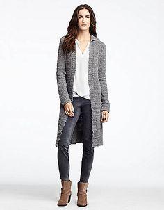 Ombre sweater dress long sweater coat | *EYE LIKE FASHION LOOKS ...