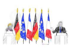 19-01-2018-Macron-Merkel: 'Sfide europee richiedono risposte immediate'-disegno digitale con i pad pro-  #drawingsstockimage #artproject #stefanobullo #digitaldrawing #ipadproart  #procreateart #contemporaryart #fineart #drawing #visualart #emergingart #italianartist #art #artecontemporanea #disegno #artevisiva #artistaitaliano 