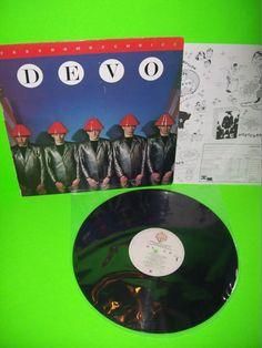 DEVO Freedom Of Choice 1980 VINTAGE VINYL LP Record w/ Inner Girl U Want Whip It #Electronica #Devo #SynthPop #NewWave #1980s