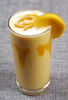 Mango lassi - favorite South Asian drink