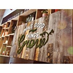 We love the moss wall over at West Elm Market in DUMBO! #DUMBO #brooklyn #westelm #DIY #mosswall #nyc #newyork #newyorkcity www.dumbolifeandstyle.com
