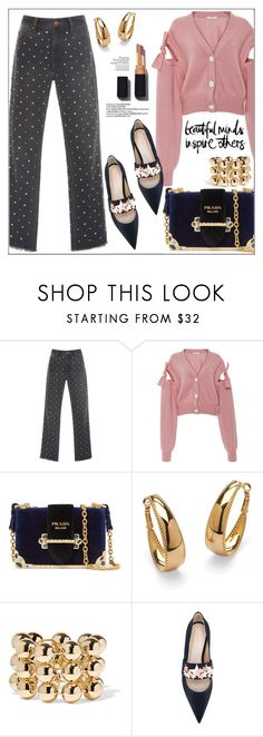 """Beautiful Minds & Stars"" by pat912 ❤ liked on Polyvore featuring Isabel Marant, Adeam, Prada, Palm Beach Jewelry, Balenciaga, Delpozo, CENA, Butter London, polyvoreeditorial and applepicking"