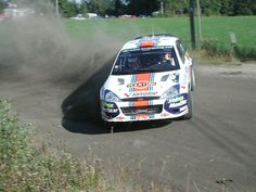 Colin McRae's Ford Focus at the 2001 Rally Finland
