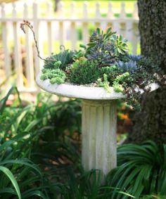 8 Astuces de décoration de jardin, avec des objets récupérés! - Décorations - Trucs et Bricolages