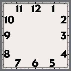 Cd ClockPrintable Clock Face  Clock Faces    Clock