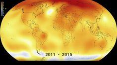 Video: La NASA muestra en 30 segundos cómo ha cambiado el clima