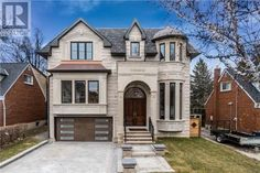 Stunning Brand New Quality Custom Home Nestled On A Multi Millin Dollar Street! Meticulously Designed &Crafted. Near 6500 Sqf Of Luxurious Living Spave ( First &2nd Floor 4400 Sqf) With Elevator To All 3 Levels. Gorgeus 12 And 10 Ft Ceilings,4+2 Bedrooms/7 Baths With Huge Principal Rooms Make This Property Unique. Premium Lot 50X150 Gives This Property The Extra Length Backyard Needed For En  Check out this great home on http://detachedhouseforsale.com - 56 BEVDALE Road , Toronto, Ontario…