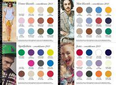 Modekleuren voor zomer 2013