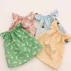Pretty Peasant Dress PDF Pattern Doll Clothing