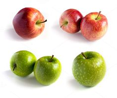 Check out Fresh apple set by Grounder on Creative Market