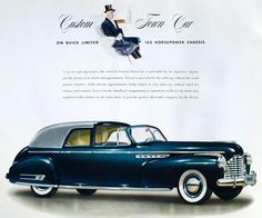 1941 Buick Limited Custom Town Car by Brunn Coachwork