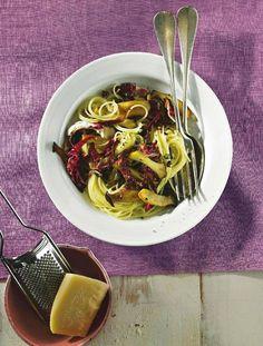 Als Spaghettini bezeichnet man besonders dünne Spaghetti. Wir servieren sie mit…