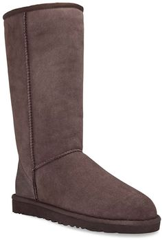 Classic Tall in Chocolate $194.95 at ShoeMill.com - UGG (added to christmas list)