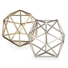 Hexadome Sphere from Z Gallerie. One of each color!