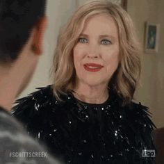 New party member! Tags: comedy pop judging you schitt's creek judging poptv moira eugene levy catherine ohara schitts creek moira rose Tv Judges, Peekaboo Highlights, Catherine O'hara, David Rose, Schitts Creek, Advanced Style, Tv Show Quotes, Long Bob Hairstyles, Hairstyle