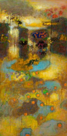 Suspended Stability | oil on canvas | Rick Stevens