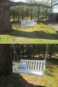 Bench Tree Swing