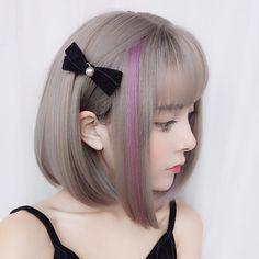 17 Fabulous Hair Color Organizer For Salons Hair Color Touch Up Black Short Hair Wigs, Short Hair Styles, Wig Hairstyles, Straight Hairstyles, Salon Hair Color, Hair Density, Wig Making, Pony Hair, Hair Shampoo