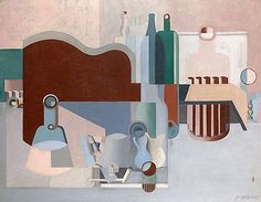 Le Corbusier. Nature Morte Independents. 1922