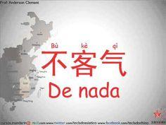 Chino Mandarín 01 Practicando las (Buenas costumbres , Saludos y despedidas) - YouTube Chino Mandarin, China China, Chinese Language, Learn Chinese, Chinese Characters, Nouvel An, Sketch, English, Goals