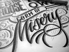 Hand-Lettering by Mateusz Witczak – Inspiration Grid   Design Inspiration