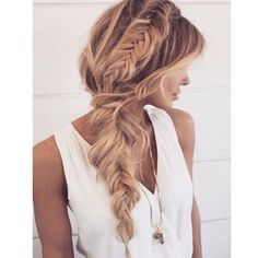 Total Hair Inspo!! #inspo #instahair #blonde #plait