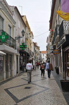 Setubal, Portugal, próximo à Praça do Bocage.