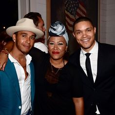 "Lewis Hamilton on Instagram: ""#latergram @emelisande @trevornoah always a pleasure! #goodtimes #goodpeople #hamptons #apollotheater"""