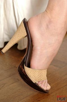 High heeled: mules, slides, candies, sandals, slippers, thongs. Random slide (good for hours of fun)...