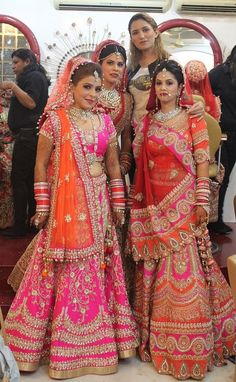 """The beauty of a Bride might bring Happiness but the happiness of a bride always bring Beauty. Indian Bridal Outfits, Indian Bridal Lehenga, Indian Bridal Fashion, Indian Dresses, Bridal Dresses, Indian Clothes, Bridal Looks, Bridal Style, Bridal Chura"
