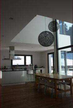 Décoration Salon - salle à manger 50m2 - Suisse - février 2012