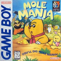 Mole Mania hits the eShop tomorrow! Did you get to play it back in '96?