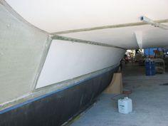 Rigid Foam Insulation, Best Bond, Naval, Construction Process, Boat Building, Boats, Sailing, Mountain